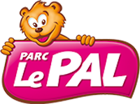 Logo du parc d'attraction et animalier Le Pal