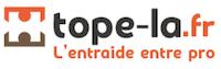 Logo Tope Là site web entraide entre professionnels du bâtiment