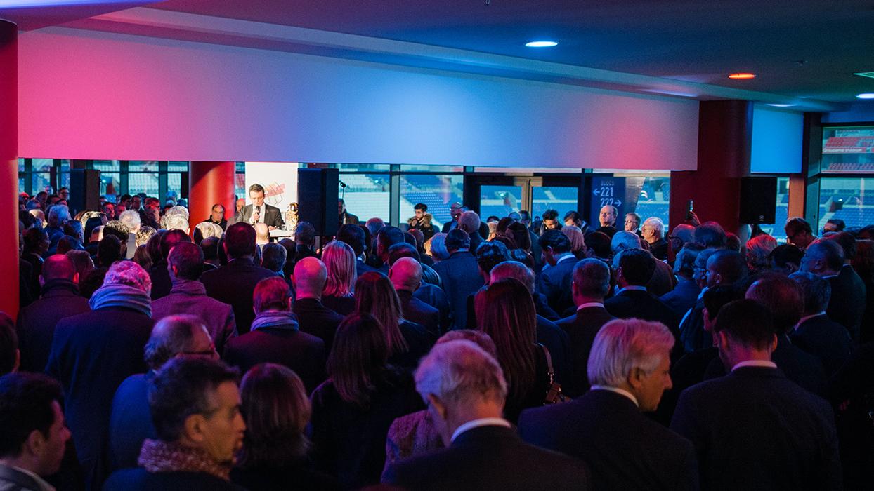 un évènement du MEDEF Lyon-Rhône.